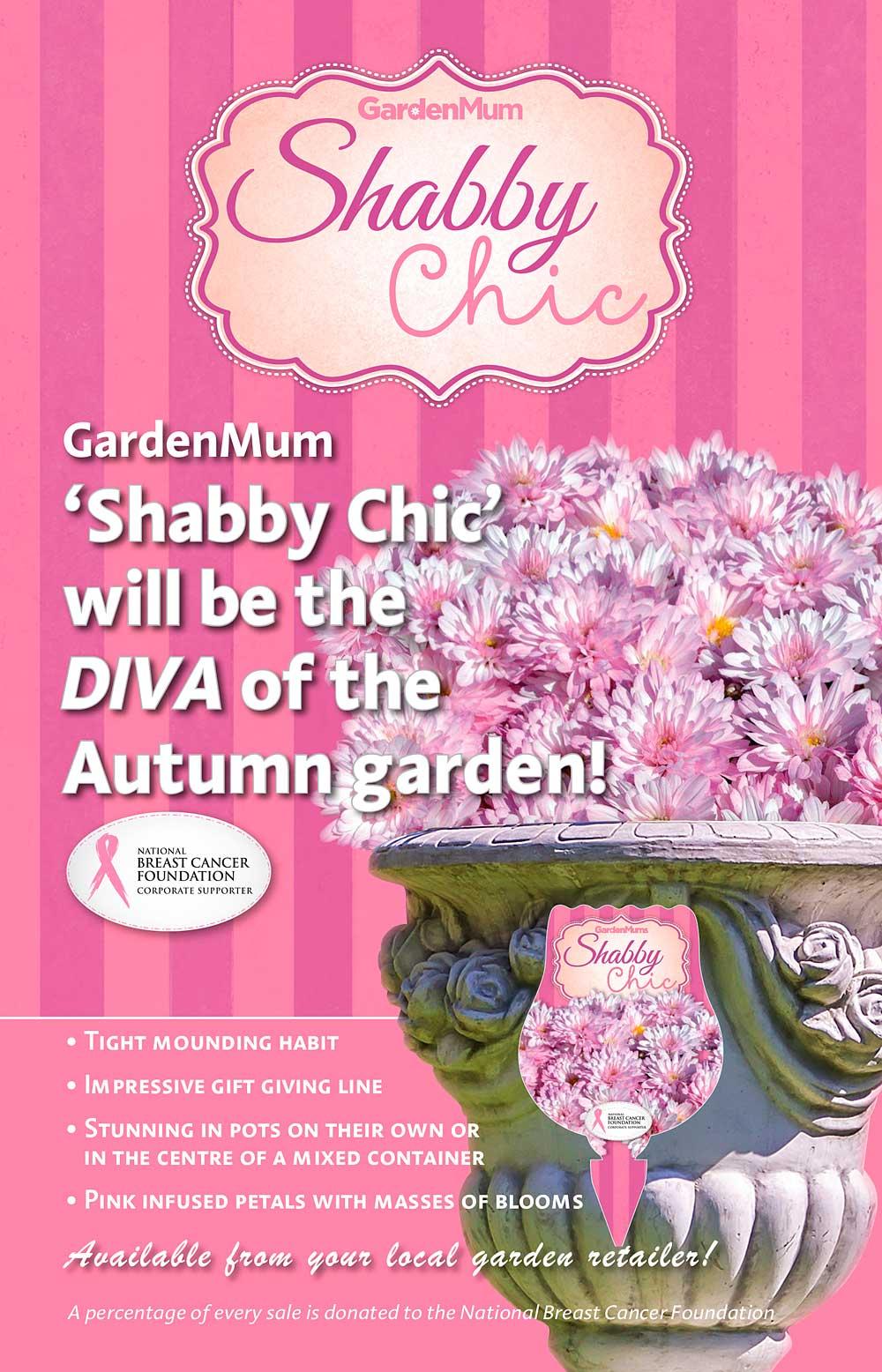 GardenMum Shabby Chic Advert